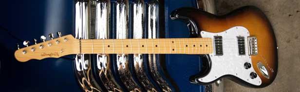 Flatline Vistaglide S Left Handed Guitar Lefty