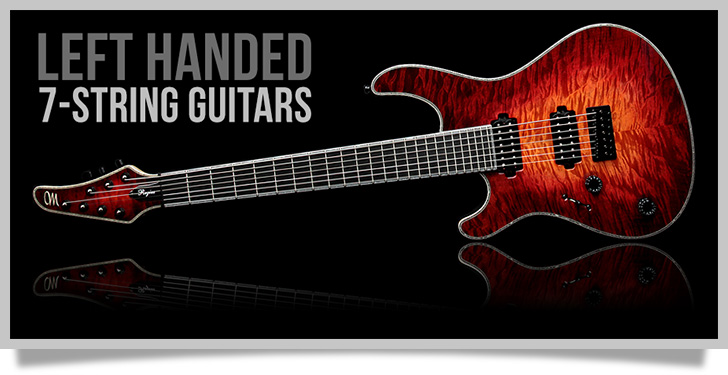 Left Handed 7-String Guitars