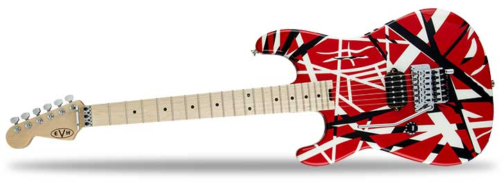 Left Handed EVH Striped Series