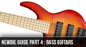 Newbie Series Part4 : Lefty Beginner Bass Guitars