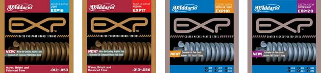 D'Addario Coated EXP Strings