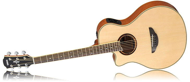yamaha guitars. left handed yamaha apx700ii acoustic guitar guitars g
