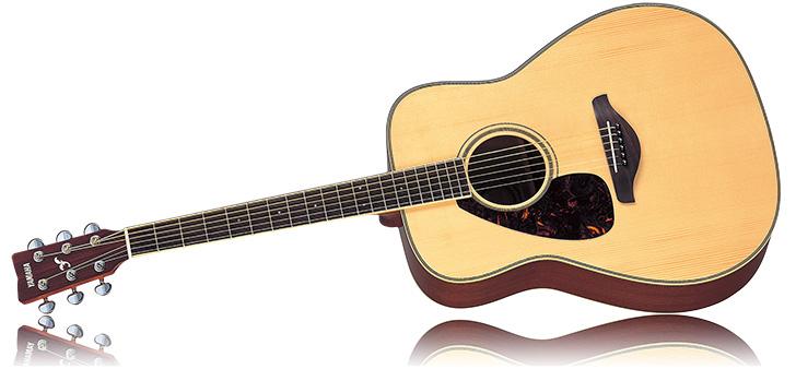 Left Handed Yamaha FG720SL Acoustic Guitar