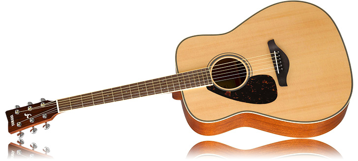 Left Handed Yamaha FG820L Acoustic Guitar
