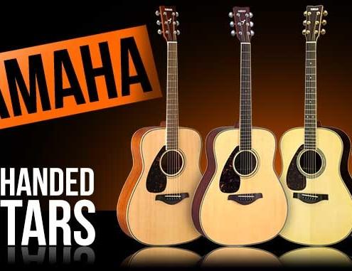 Left Handed Yamaha Guitars