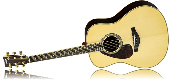 Left Handed Yamaha LL16ARE Acoustic Guitar