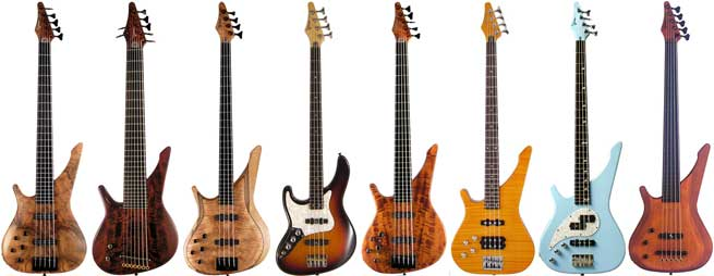 Manne Left Handed Bass Guitars Lefty