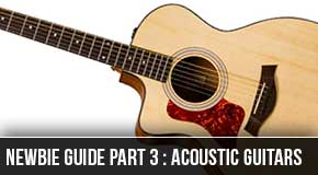 Newbie Series Part3 : Lefty Beginner Acoustic Guitars
