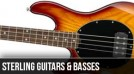 Sterling by Music Man : Left Handed Bass Guitars 2012
