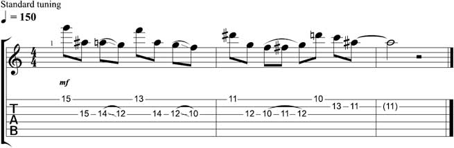 Lick of the Week Lesson 2 Tab