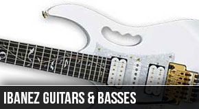Ibanez Left Handed Guitars and Basses 2011
