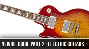 Newbie Series Part2 : Beginner Electric Guitar List