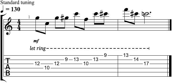 Toms Lick of the Week Lesson 6 Tab