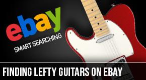 find-left-handed-guitars-on-ebay