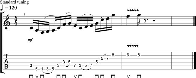 Tom Richardson - Lick of the Week 10 - TAB