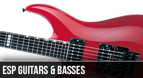 ESP Left Handed Guitars and Basses