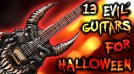 13 EVIL Halloween Themed Guitars