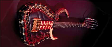 Lieber Guitars Gigerstein Halloween