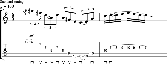 Tom Richardson - Lick of the Week 11 - TAB