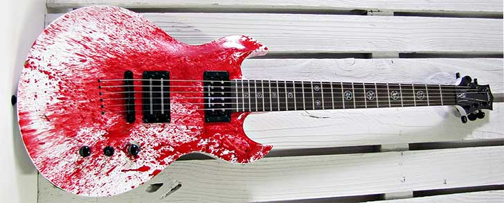Washburn Murder Weapon Guitar Halloween