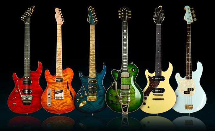 Left Handed Ruokangas Guitars