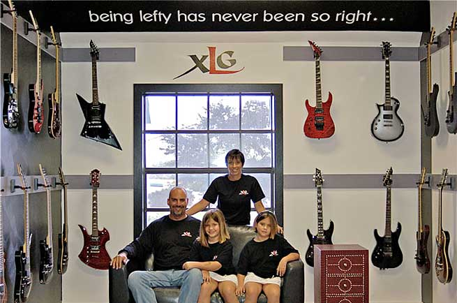 Xtreme Lefty Guitars XLG Left Handed Guitars