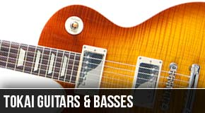Tokai : Left Handed Guitars and Basses