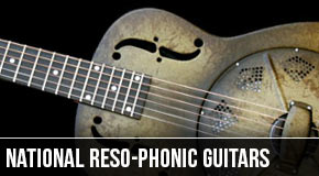 National Reso-Phonic : Left Handed Resonator Guitars
