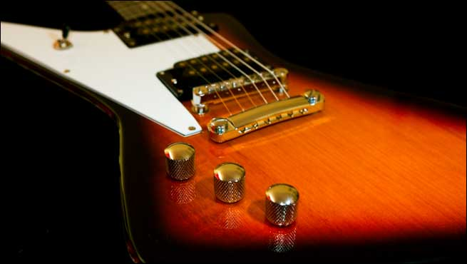 Gaskell Classic I Explorer Left Handed Guitar Lefty Review