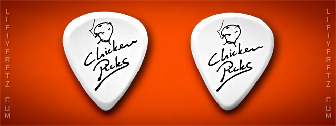 Chicken picks guitar plectrum review eppo franken
