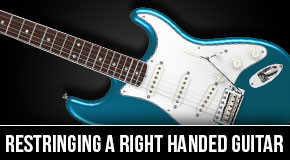 Restringing A Right Handed Guitar Upside Down