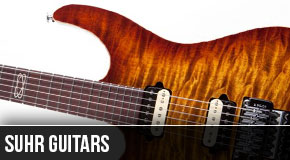 Suhr : Left Handed Electric Guitars