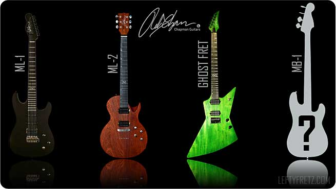 Chapman Guitars LeftyFretz Left Handed Southpaw
