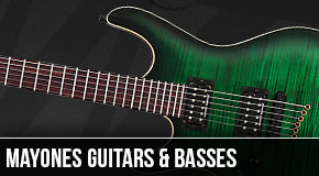 Mayones : Left-Handed Guitars and Basses