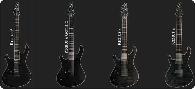 Mayones Regius Left Handed Guitar Lefty