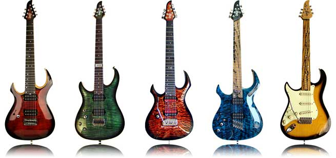 GNG LEft-Handed Guitars Italy Lefty Morgoth