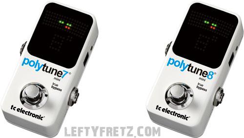 TC Electronic Polytune Mini 7-string 8-string pedal
