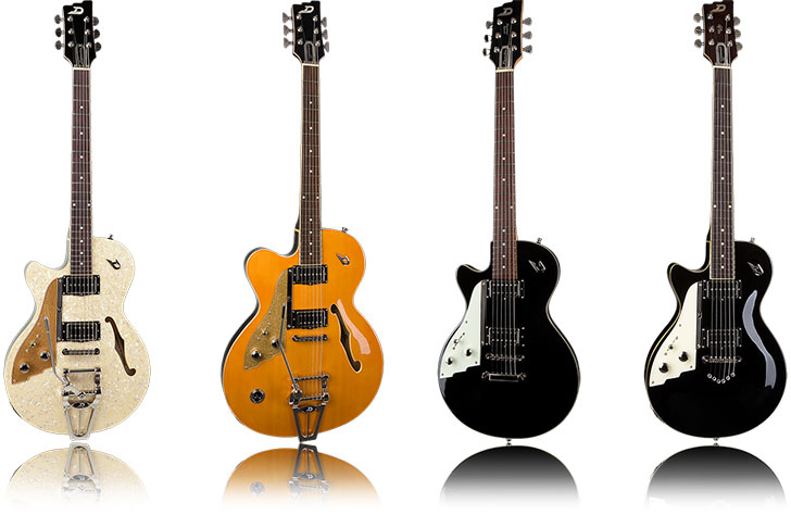 Duesenberg Left Handed Guitars