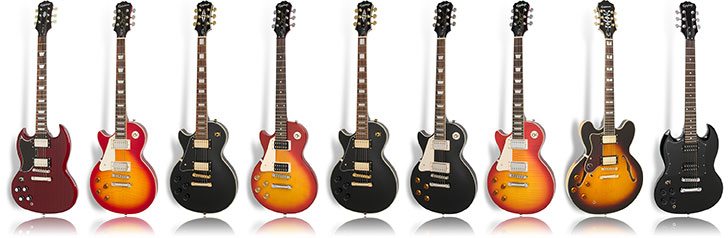 Epiphone Left Handed Guitars Lefty