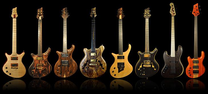 Alexander James Left Handed Guitars