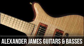 Alexander James : Left Handed Guitars and Basses