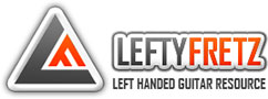 LeftyFretz.com – The Left Handed Guitar Player's Resource