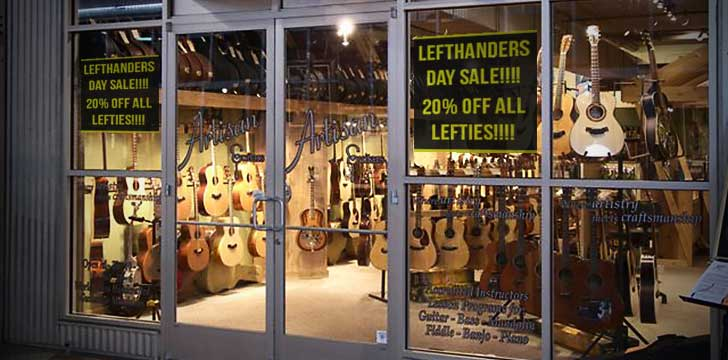 international left handed day sale