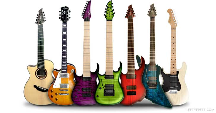 Left Handed Agile Guitars