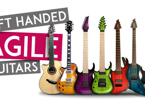 Agile Left Handed Guitars