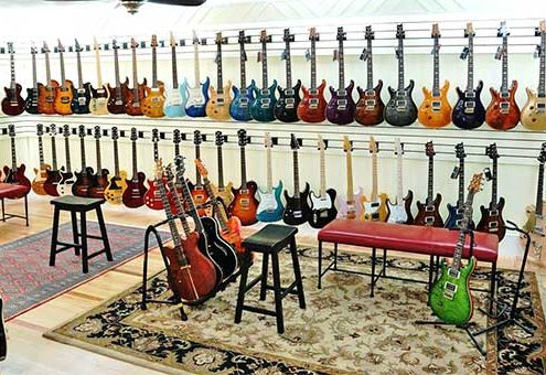 Jerry's Lefty Guitars Store Florida