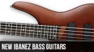 New Left Handed Ibanez Bass Guitars