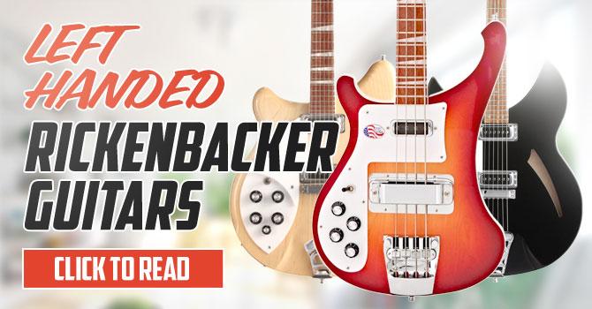 Left Handed Rickenbacker Bass