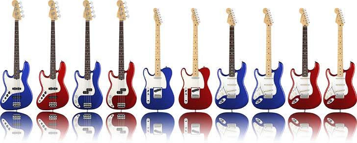 Fender 2013 American Standard Left Handed Guitar Bass