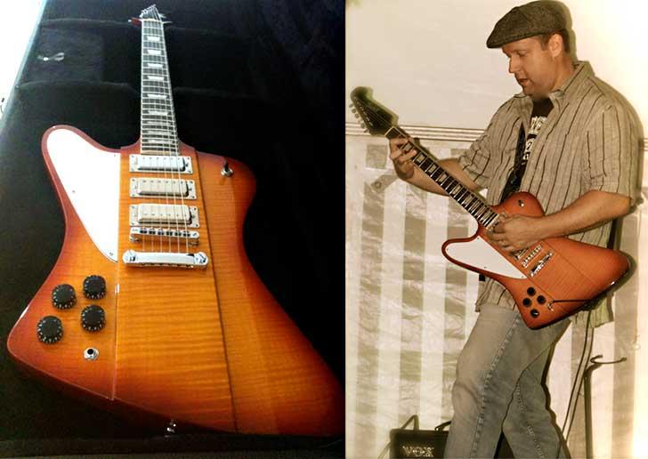 Gaskell Firestarter Limited Edition Left Handed Guitar